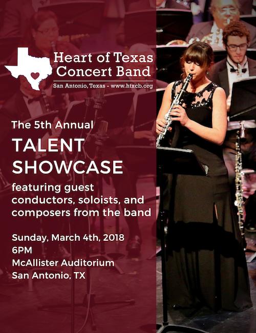 HTxCB Talent Showcase 2018 - March 4, 2018